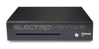 Gaveta De Dinero Electronica 4billetes 8monedas, Ev8198