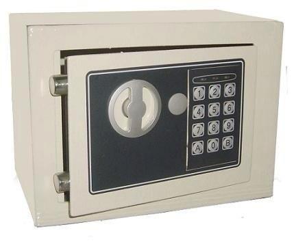 Caja Fuerte Digital 17x23x17cm Electronica Seguridad
