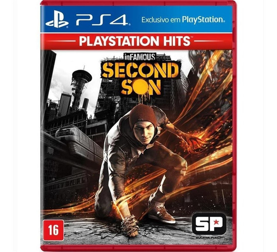 Jogo Infamous Second Son Hits - Ps4