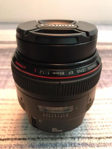 Lente Canon Ef 85 Mm F/1.2 L Usm