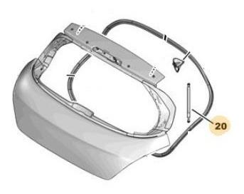 Amortiguador Para Baul Peugeot 308 1.6 Hdi 16v