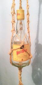 Garrafa De Whisky White Horse + Suportes De Sisal
