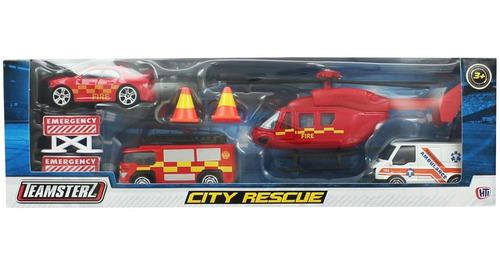 Teamsterz DIE-CAST de respuesta de emergencia sea /& Río patrulla de rescate conjunto Popular