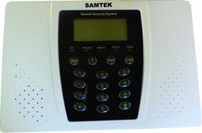 Central De Alarme Sem Fio + 02 Sirenes Sem Fio + 06 Sensores