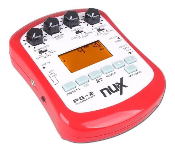 Gerador De Efeitos Para Guitarra Nux Pg-2
