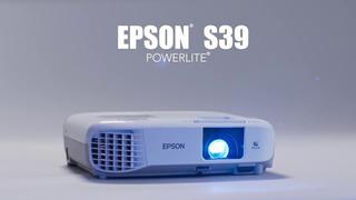 Proyector Epson S39 3300 Lumens Garantia, Soporte Gratis