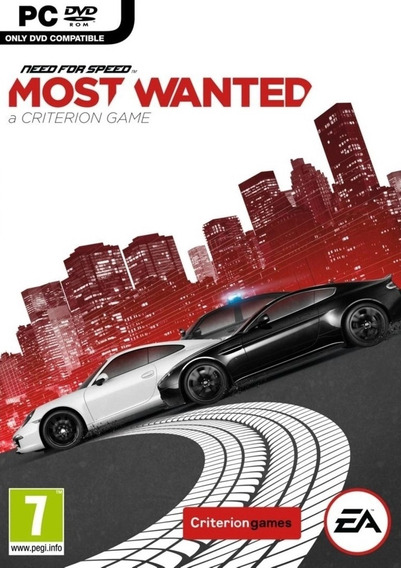 Need For Speed Most Wanted Pc - Dvd (midia Fisica)
