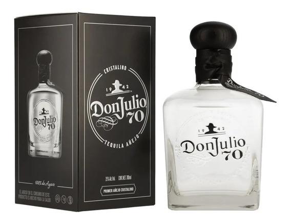 Don Julio Tequila 70 Añejo Cristalino Botella 700 Ml