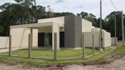 Casa Em Farol Do Itapoá Ii, Itapoá/sc De 51m² 2 Quartos À Venda Por R$ 191.999,00 - Ca176461