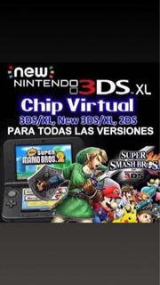 Chip Virutal 3ds Incluye Juegos