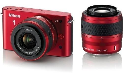 Câmera Nikon 1 J1 Kit Lente 30-110mm E 10-30mm (usada)