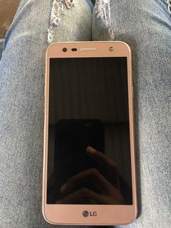 Celular Lg K10 Power Dourado
