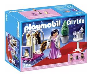 Playmobil 6150 City Life Celebridad Alfombra Roja Original