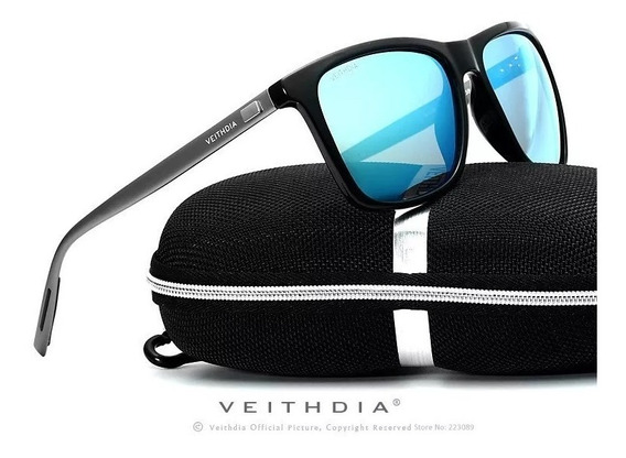 Óculos Sol Retro Masculino Feminino Polarizado Veithdia Oc5