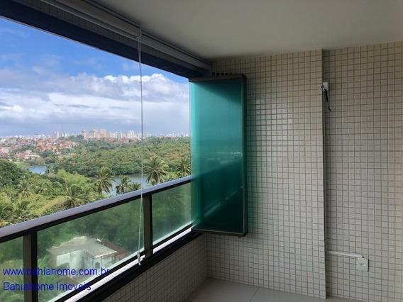 Aluguel Apartamento Patamares 113m² Com 3 Suítes E Home Office - Condominio Parque Tropical - Ap00806m