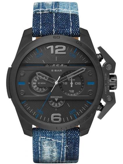 Relógio Diesel Masculino Ironside Cronógrafo Dz4397