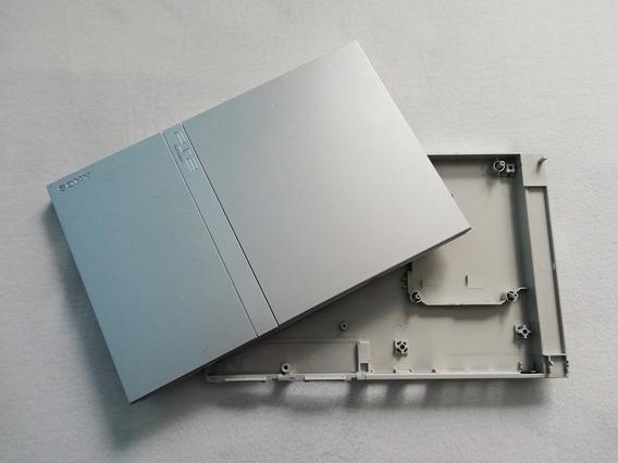Carcaça Vazia Ps2 Slim Prata Scph-79001 - Leia Anúncio