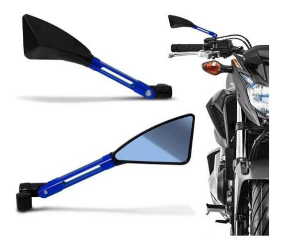 Retrovisor Moto Esportivo Tp Rizoma Gsx-s1000 Gsx-s750 Par