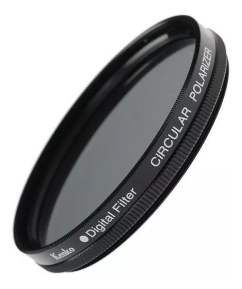 Filtro Polarizador Circular Kenko 49mm Garantia Novo