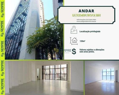Imagem 1 de 25 de Andar Corporativo Para Alugar, 130 M² - Luxemburgo - Belo Horizonte/mg - Ac0108