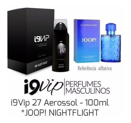 Perfume Masculino Joop Nightflight 100 Ml - I9 Vip