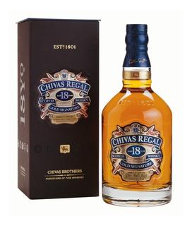 Whisky Chivas Regal 18 Años Est. 750ml Envio Gratis Al Pais