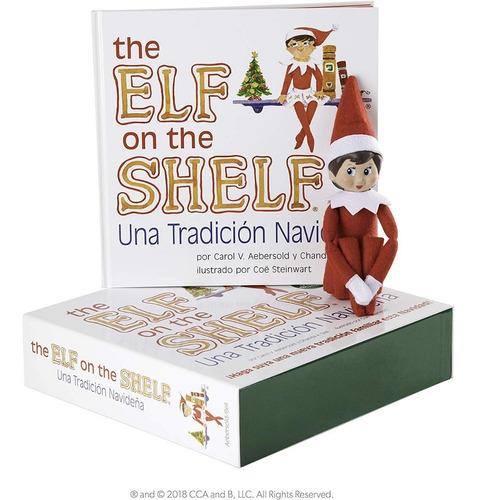 The Elf On The Shelf Niña Libro Ilustrado Español Original