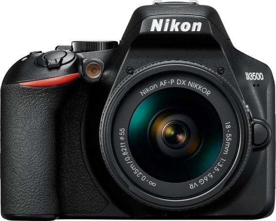 Câmera Nikon Dslr D3500 C/ 18-55mm Afp Lançamento