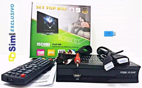 Conversor Digital Para Tv Visor Led Hdmi E Usb