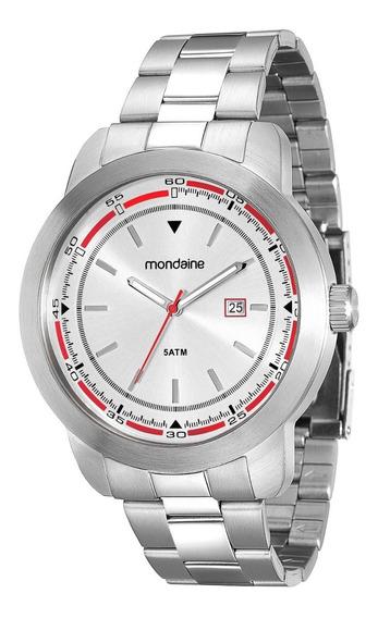 Relógio Masculino Mondaine Analógico Calendário 78636g0mvna1