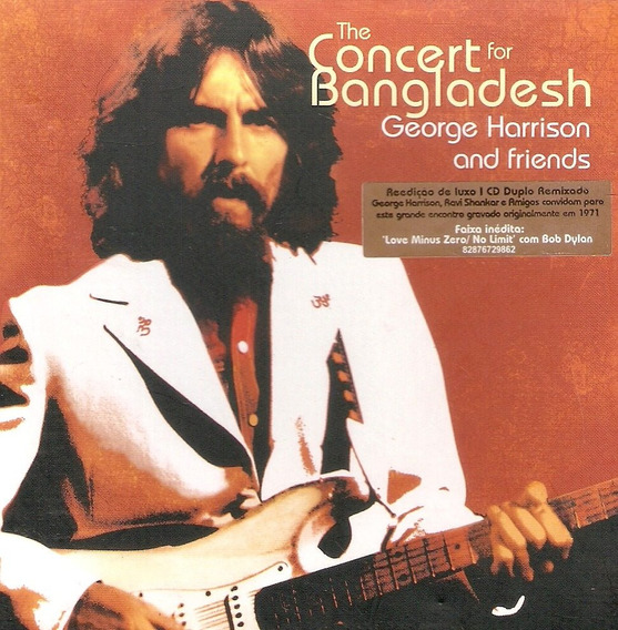 Cd Duplo George Harrison And Friends- Concert For Bangladesh