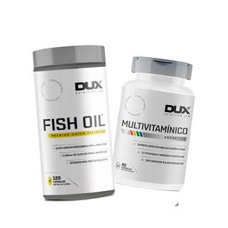 Kit Vitalidade Omega 3 Fish Dux + Multivitaminico Dux