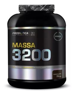 Hipercalórico Mass 3200 3kg - Probiótica - Original
