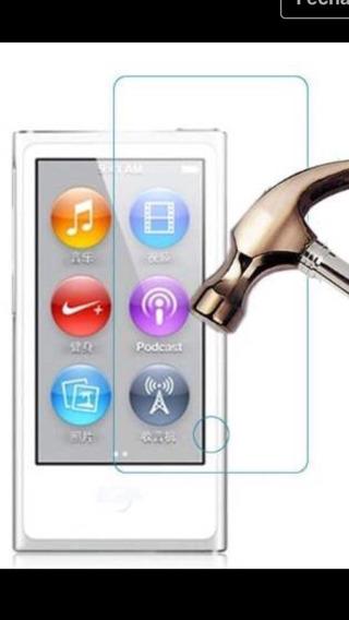 2 Películas De Vidro iPod Nano 7 + Capa De Silicone