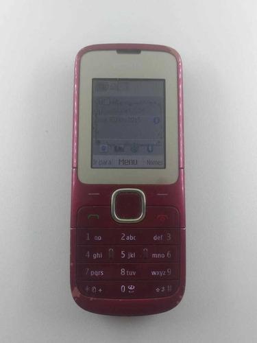 Celular Nokia Cseries C2-00Usado Funcionando