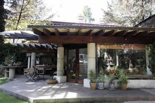 Hermosa Casa En Exclusivo Fraccionamiento En Desierto De Los Leones