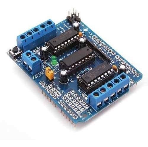 Arduino Motor Shield L293d Driver Ponte H Mega Uno