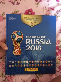 Álbum Da Copa Rússia 2018 Capa Dura