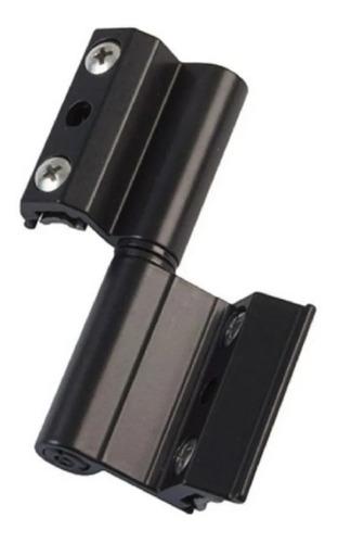Imagen 1 de 8 de Bisagra H61 Para Ventana De Aluminio Módena Negra X Unid