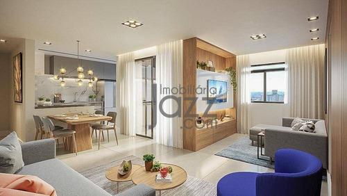 Apartamento Com 3 Dormitórios À Venda, 78 M² Por R$ 650.000,00 - Jardim Guanabara - Campinas/sp - Ap3600