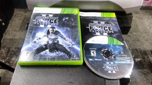 Star Wars The Force Unleashed Ii Sin Inst Xbox 360,excelente