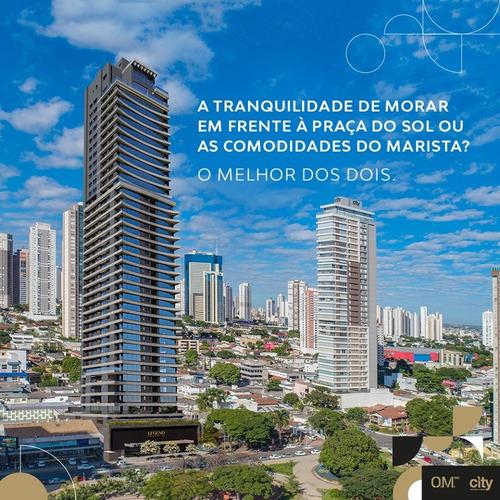 Apartamento À Venda, Setor Oeste, Goiânia, Go - Go - Ap0019_insp