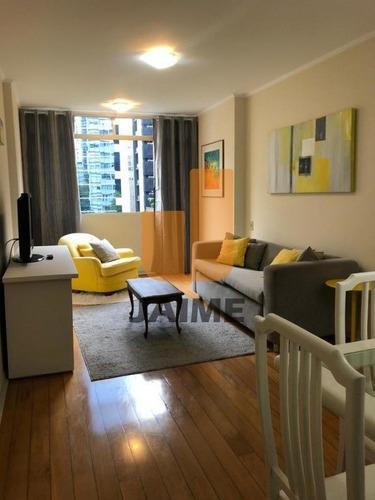 Apartamento Para Locação No Bairro Cerqueira César Em São Paulo - Cod: Ja17501 - Ja17501
