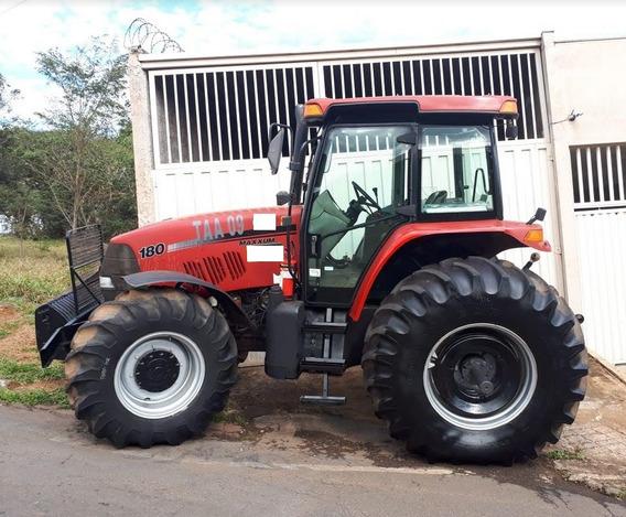 Trator Agrícola Case Modelo Mx180 4x4 Ano 2009