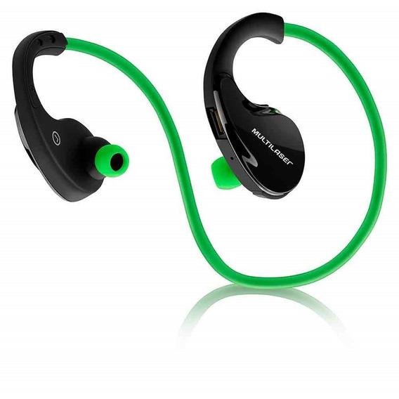 Fone De Ouvido Arco Sport Bluetooth Verde Ph184
