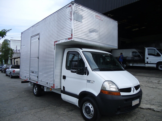 Renault Master 2.5 Dci Baú Ano 2012