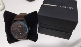Relógio Orient Masculino Couro Panx Black Mpsc1004