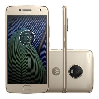 Celular Motorola Moto G5s Ouro 5.2 4g Android 7.1 Octa-core