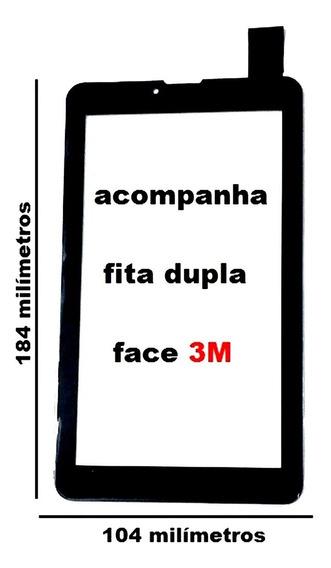Tela Touch Vidro Tablet Multilaser M7 3g M73g Plus Ml-so01