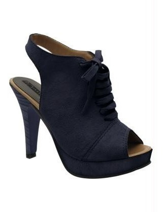 Sapato Detalhe Com Cadarço